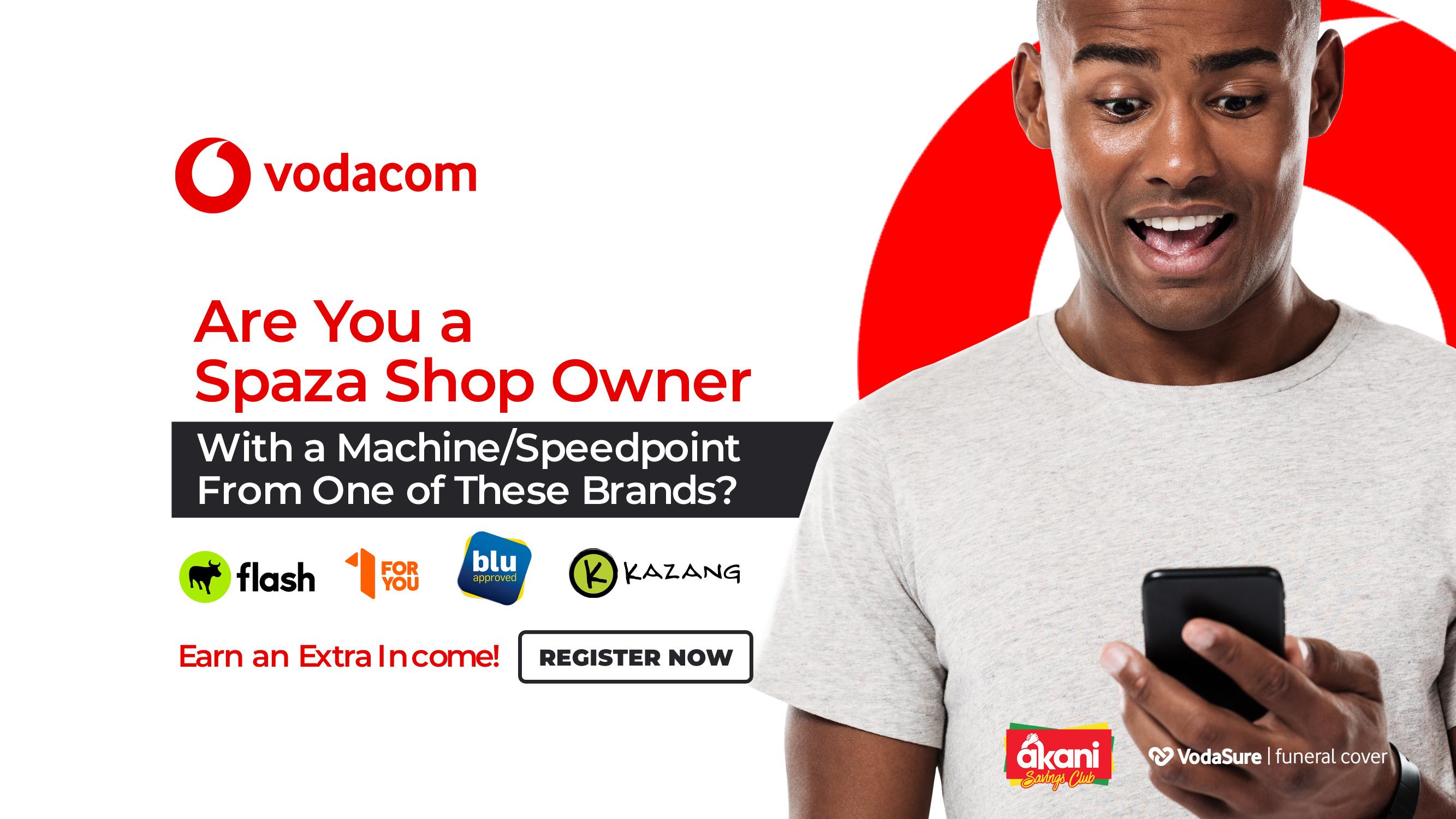 Vodacom-Akani-Spaza Shops